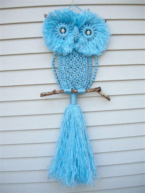 Macrame Crochet Patterns - macrame owl necklace the whoot