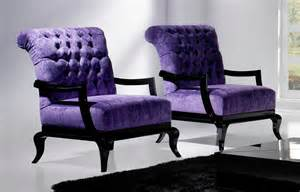 Purple Velvet Armchair Furniture Drop Dead Gorgeous Furniture For Living Room
