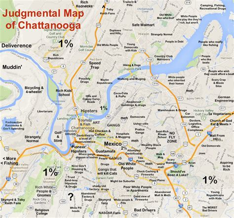 map of chattanooga tn judgmental maps chattanooga tn by logan carmichael copr