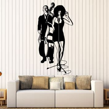 jazz group concert decal musicians wall decals home shop band wall decals on wanelo