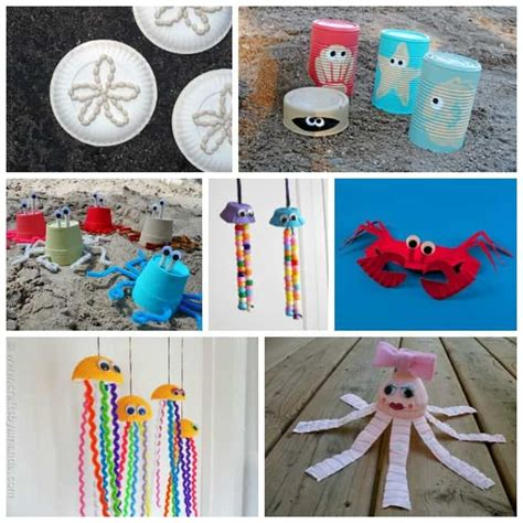 crafts beach craft ideas 35 crafts for adults and