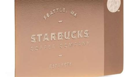 Starbucks Metal Gift Card - 450 starbucks metal gift cards sell out in seconds eater