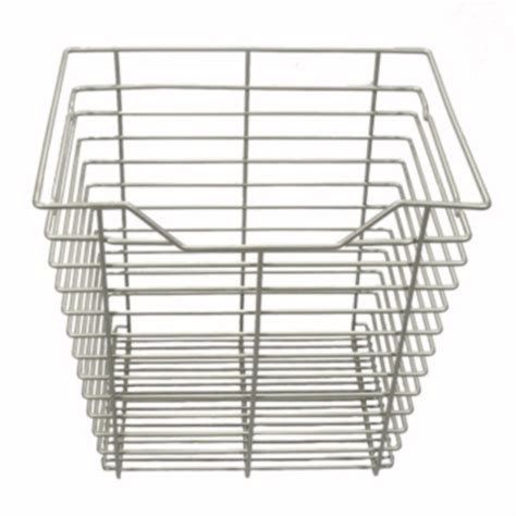 Closet Wire Basket by 17 In X 17 In Wire Basket Drawer Nickel In Custom Closet
