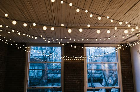 30 Ways To Create A Romantic Ambiance With String Lights String Lights Ceiling