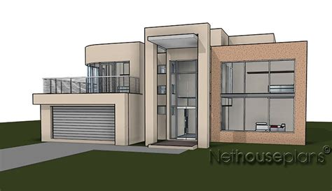 House Plan For Narrow Lot by House Plans Double Story South Africa