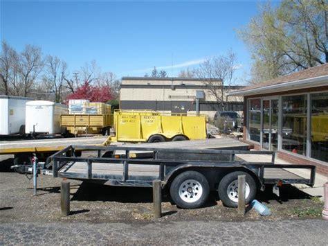 flat bed trailer rental trailer sales a j time rentals inc