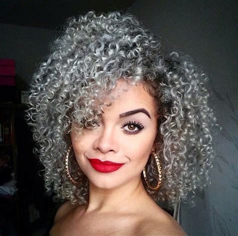 good pern for salt and pepper nappy hair 565 best images about 50 shades of gray on pinterest