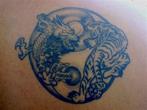 tattoo dragon tiger yin yang dragon tiger yin yang 04 tattoo picture at