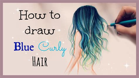 how to color hair hair debbyarts pencil and in color hair