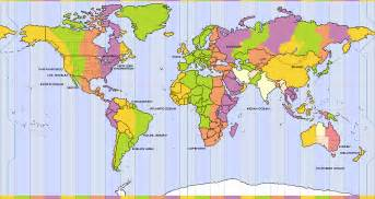 Time Zone Map Of The World by World Time Zone Map Related Keywords Amp Suggestions World