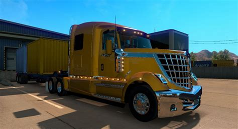 international semi truck international lonestar truck american truck simulator
