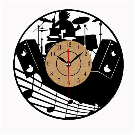 cool wall clocks vertical home garden super cool vinyl record wall clock theme art cd clock