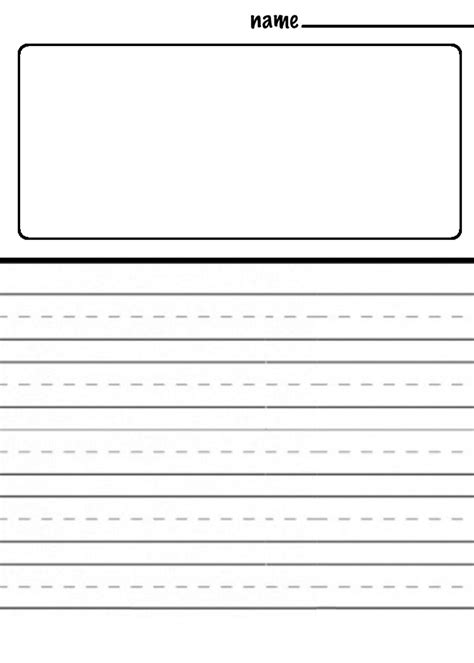 writing pattern for grade 2 the smartteacher resource drawing journaling templates