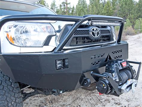 Toyota Front Bumper Toyota Tacoma Winch Bumper 12 15 Aluminess