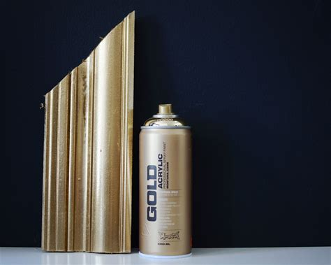spray paint on leaf montana gold spray paint if you want the killer look of