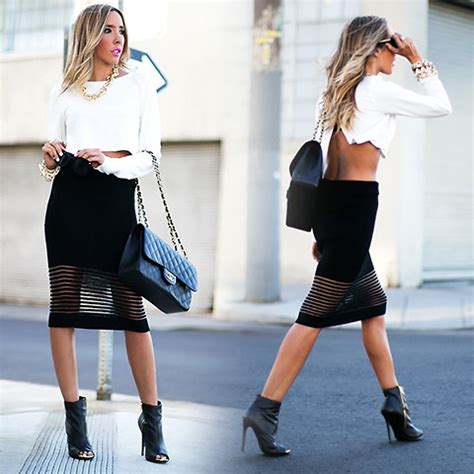 pencil skirt and booties