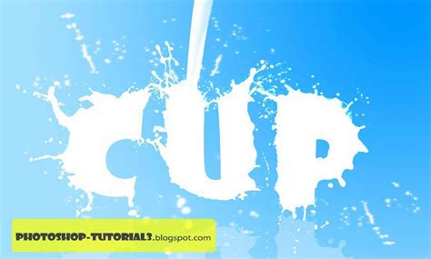 typography tutorial photoshop free download photoshop tutorial how to make a splashed milk