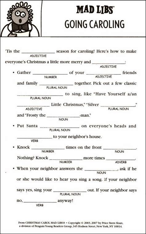 printable christmas mad libs search results for funny christmas mad libs printable