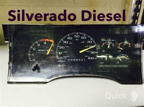 95 chevy truck speedometer find 1995 chevy silverado 2500 diesel speedometer gauge cluster instrument cluster motorcycle