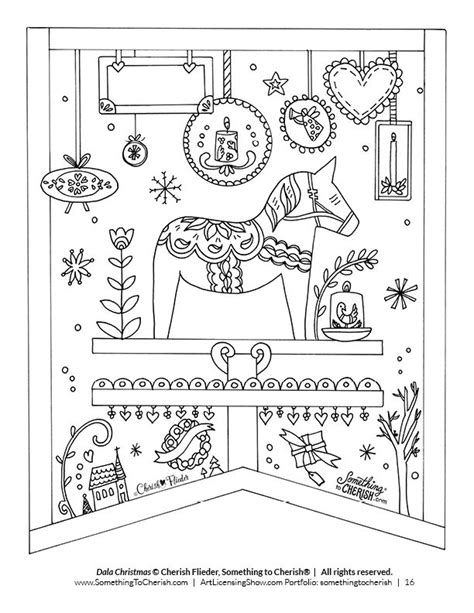 coloring pages for christmas in sweden 1345 best livre de coloriages images on pinterest