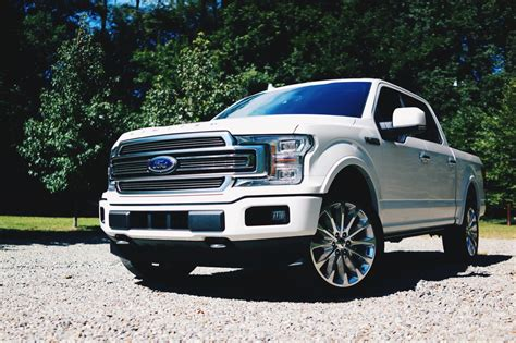 Top Of The Line Ford F150 top of the line truckin in the 2018 ford f 150 limited