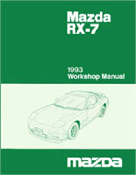 online service manuals 1988 mazda rx 7 user handbook mazda rx 7 reference materials