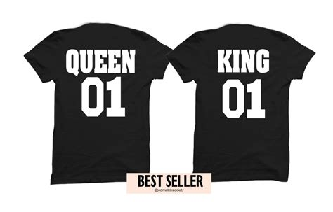 The Tshirt 01 king and 01 couples shirt king and shirts