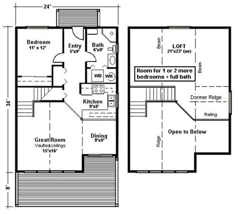 cabin floor plans with loft small cabin floor plans free woodworking projects plans