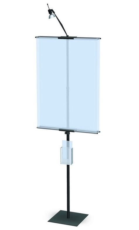 Standing L Classic Import classic banner stand 36 portable banner stand bannerstandpros
