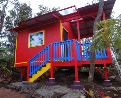 144 sq ft tiny house on guemes island wa 144 sq ft colorful studio cabin in hawaii