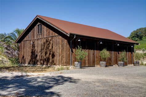Napa Rustic Dock House Barn Napa Style Barn Door
