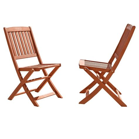 upc 490090101150 patio dining chair vifah wood folding