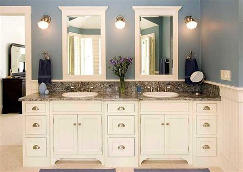 White Bathroom Cabinet Ideas | custom bathroom cabinets design ideas to remodeling or