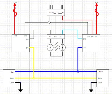 4 wire led light wiring diagram get free image