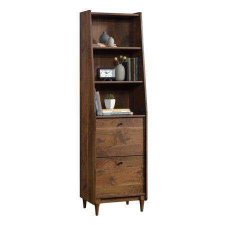 narrow bookcase with drawers better homes gardens montclair 3 shelf narrow bookcase