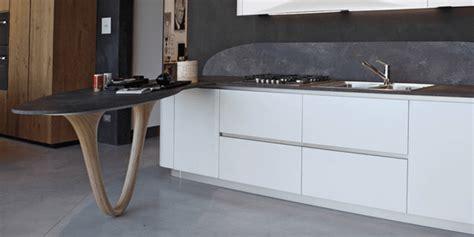 cucina con bancone snack soggiorno con cucina a vista schermata da bancone