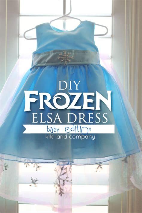 tristinandcompany linky love diy dresses edition diy frozen elsa dress tutorial materials list and the