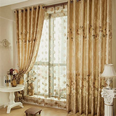 contemporary bedroom curtains primitive privacy floral print contemporary cotton poly