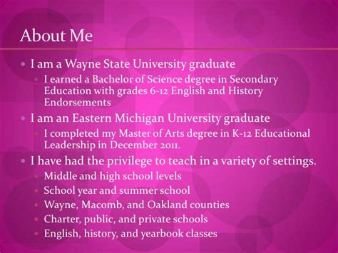 Wayne State College Mba Grading Scale by Rusie S Teaching Portfolio