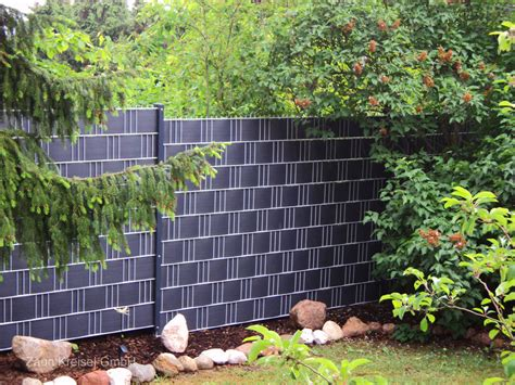 Sichtschutz Für Die Terrasse by Sichtschutzzaun Holz Montage Bvrao