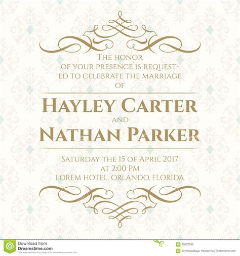 Wedding Invitation Border Graphics by Calligraphic Border And Seamless Classic Background