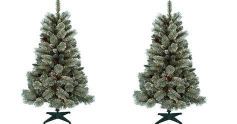 sears donner blitzen 4 5ft cashmere pine w led lights