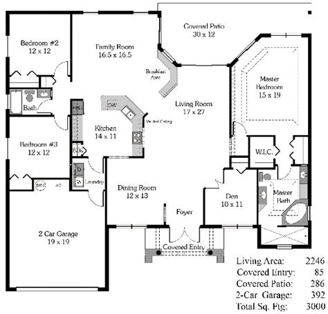 4 bedroom house plans open floor plan 4 bedroom open house