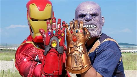 endgame iron man gauntlet thanos infinity gauntlet