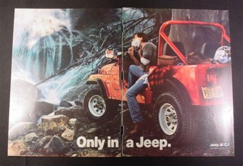 Jeep Magazines Magazine Ad For Jeep Cj Car 1984 By A