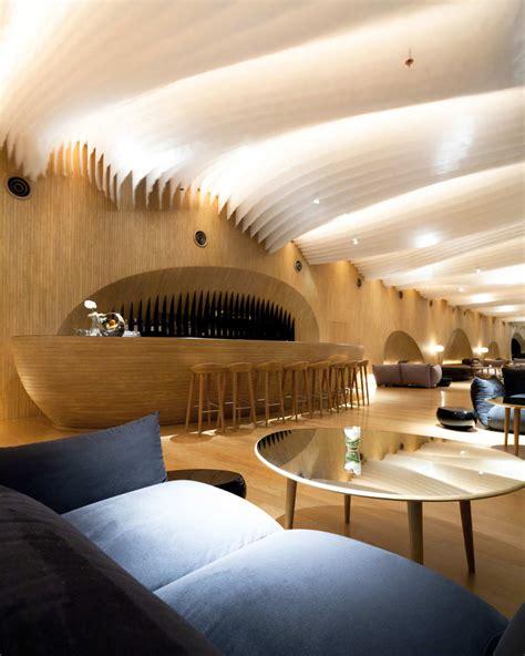 amazing interiors hilton pattaya floating hotel in thailand idesignarch