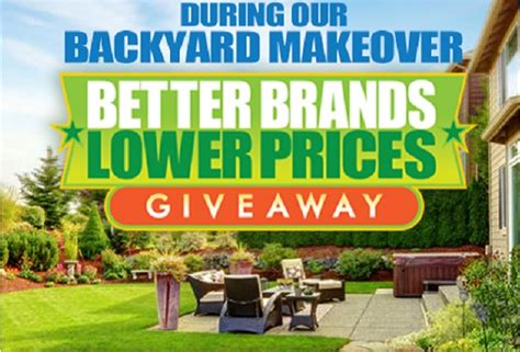 win backyard makeover win a backyard makeover whole mom