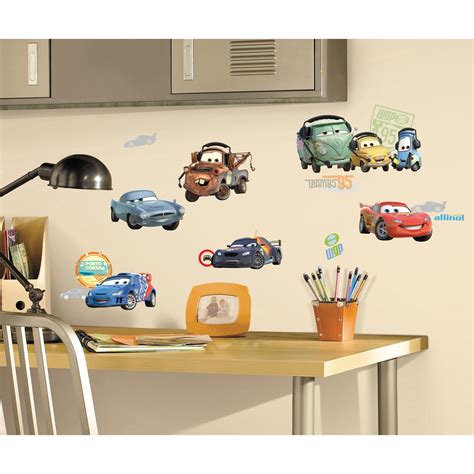 disney wall sticker disney cars wall decals potty concepts