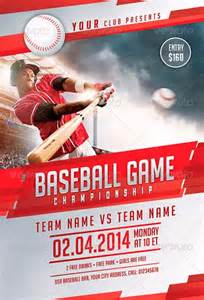 baseball flyer template best baseball sports flyer templates no 1