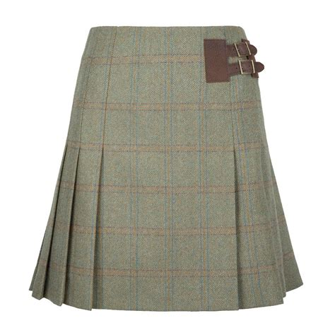 dubarry foxglove pleated tweed skirt farlows